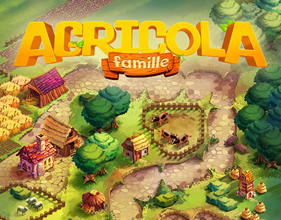 Funforge's Agricola Famille