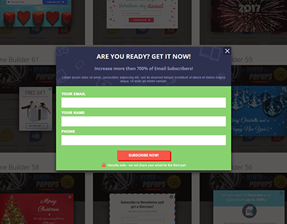 Sign Up , Lead Collect Form By Elementor & Mailchimp