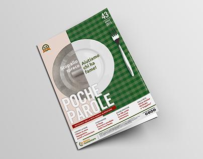 """Banco Alimentare Magazine """"Poche parole"""""""