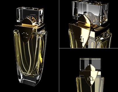 LVL parfume 3D visialization