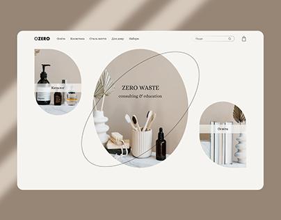 Zero waste store concept