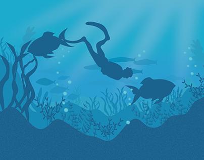 Dive deep into the ocean