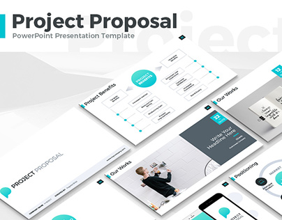 Project Proposal Presentation Template On Behance