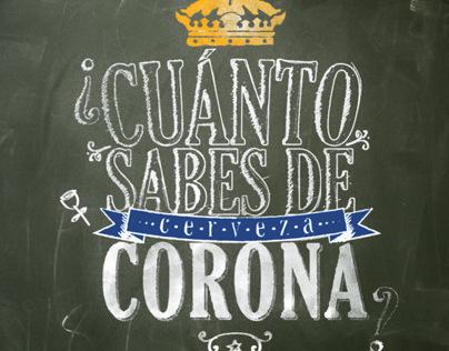 Actividad Marzo Cerveza Corona Extra
