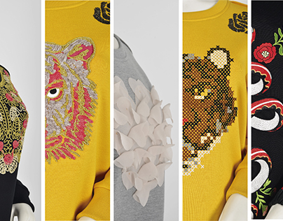 Embroidery sweatshirt's collection / sneak peek