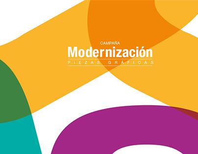 Campaña Modernización