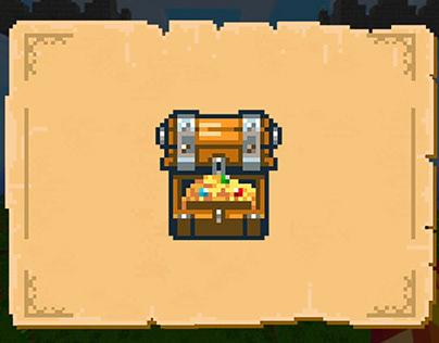 Pixel game UI
