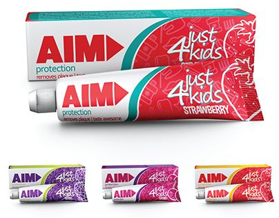 AIM Toothpaste Design & Packaging