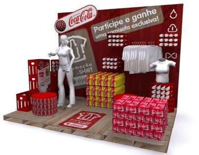 Stand Sustentável Coca Cola - Carrefour