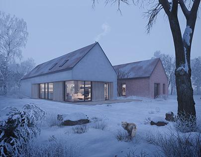House in Wierzbna