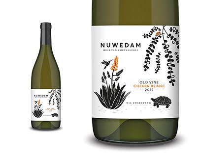 Nuwedam Wine Label
