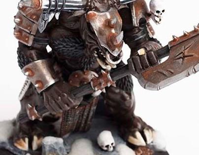 Beastmen Minotaur Miniatures