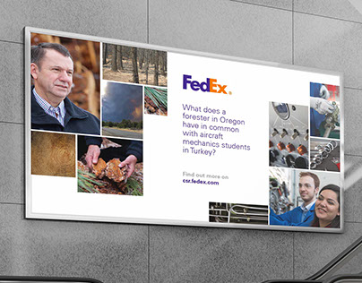 Editorial Photography for FedEx