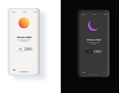 Day and Night Mode Switcher