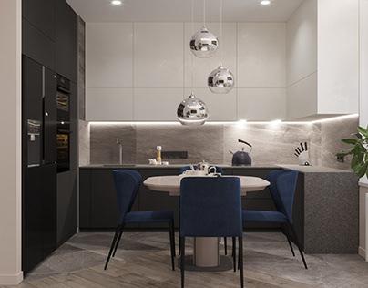 Avtograf apartments interior design