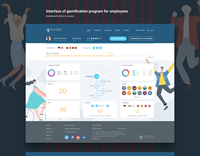 Gamification Interface