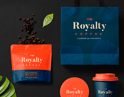 The Royalty Coffee | Visual Identity