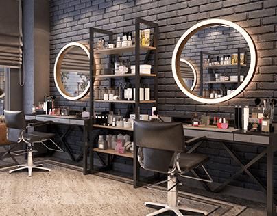 Beauty Salon Interior Design.