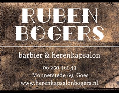 artwork Ruben Bogers - barber
