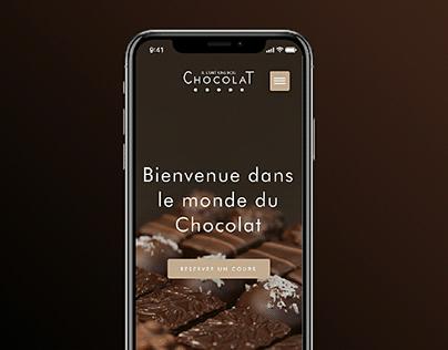 Il était une fois Chocolat webdesign