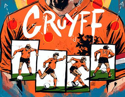Johan Cruyff for Socrates mag.