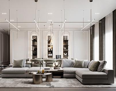 Apartment Design in Beirut, Lebanon Part I