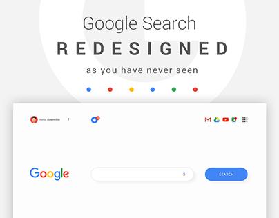 Google Search - UIX Redesign
