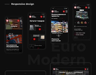 Сайт-каталог. Евро Модерн