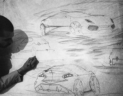 Random Automotive SketchWorks