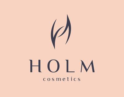 HOLM Cosmetics Branding