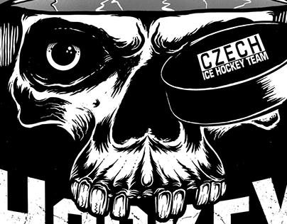 CZECH HOCKEY - Hockey Fan Forever - T-shirt Graphic