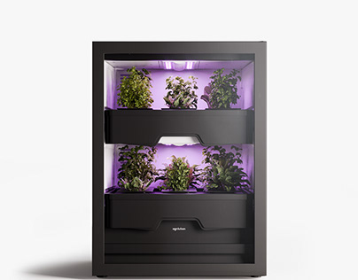 Product Renderings - Agrilution Plantcube