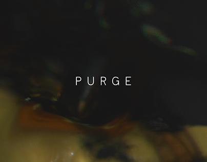 Purge intro title motion