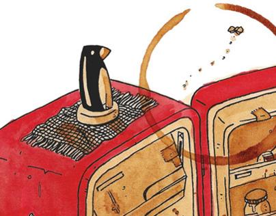 Ilustração para a revista Piauí