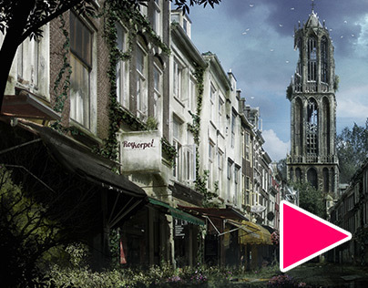 Abandoned Utrecht + Time Lapse video