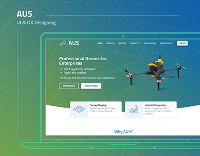 AUS - Website UI & UX Design