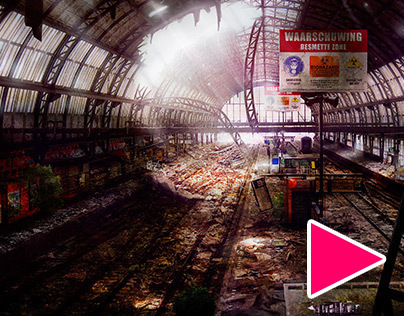 Abandoned Amsterdam Central Station + Time lapse video