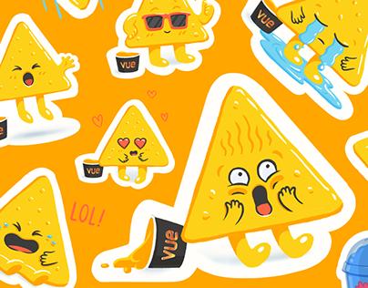 Vue cinema stickers