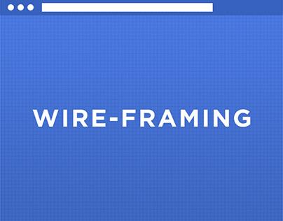 Website Blueprint / Wireframe