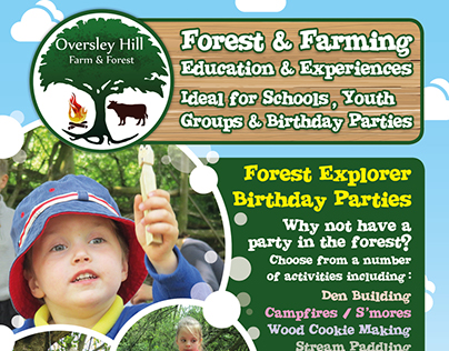 Oversley Hill Farm Promo A5 Flyer