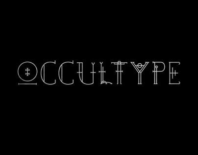Occultype I Typography