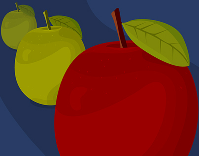 Apples, Depth of Field Illustrated