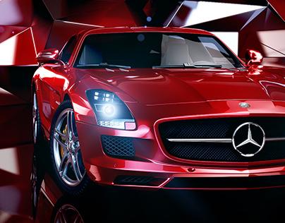 3D Car visualization | Mercedes