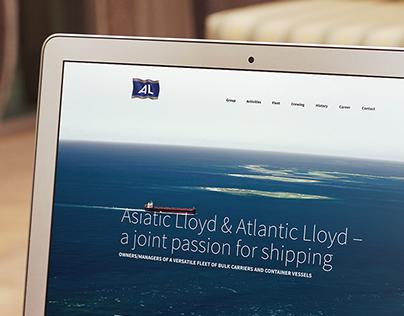Asiatic Lloyd – Web Design