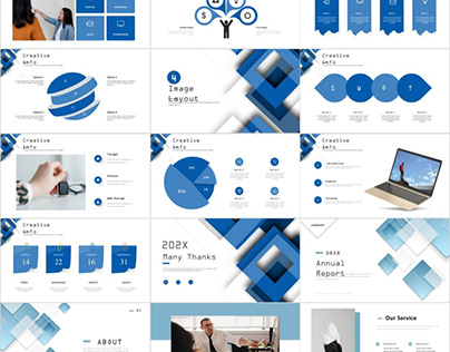8IN1 CLEAN REPORT POWERPOINT