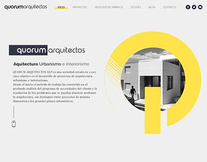 Architecture studio web