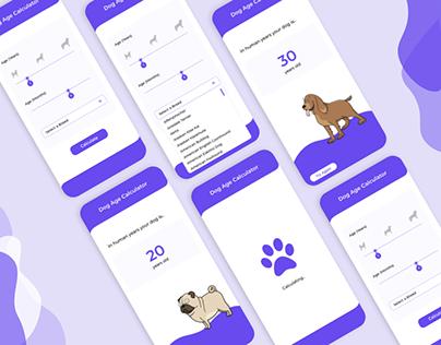 Dog Age Calculator (Daily UI Challenge)