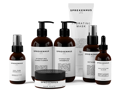 3d model Haircare Set by Sprekenhus