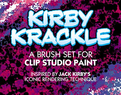 KIRBY KRACKLE BRUSH SET