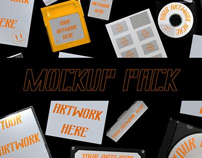 Free Mockup Pack Vol. 01